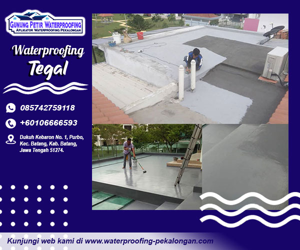 jasa waterproofing tegal